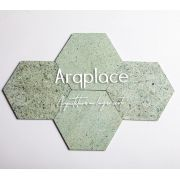 Pedra Hijau Hexagon - 20x20cm