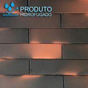 Revestimento Tijolinho Brick - Coleção Soho Fumê 7 x 30cm