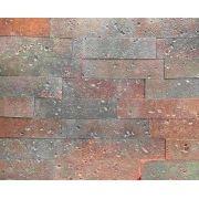 Revestimento Tijolinho Brick - Coleção Toscana Fumê 7 x 28cm