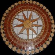 Rosone Artesanal Rústico - Mod. 17 - A partir de 80cm