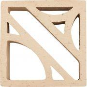 Terra Branco 26x26 - Cobogó Cerâmica