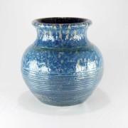 Vaso Esmaltado Anfora - Azul del Mar