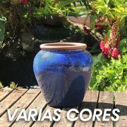 Vaso Esmaltado Asteca 45 x 35