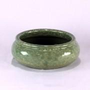 Vaso Esmaltado Bacia Borda - P - Verde Água