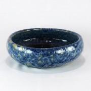 Vaso Esmaltado Bacia Lisa - M - Azul del Mar