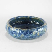 Vaso Esmaltado Bacia Lisa - P - Azul del Mar