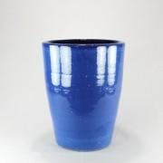 Vaso Esmaltado Cone - 50 cm - Azul Real