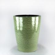 Vaso Esmaltado Cone - 50 cm - Verde Água