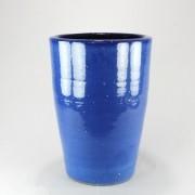 Vaso Esmaltado Cone - 60 cm - Azul Real
