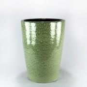 Vaso Esmaltado Cone - 60 cm - Verde Água