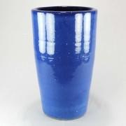 Vaso Esmaltado Cone - 70 cm - Azul Real