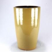 Vaso Esmaltado Cone - 70 cm - Bege Saara