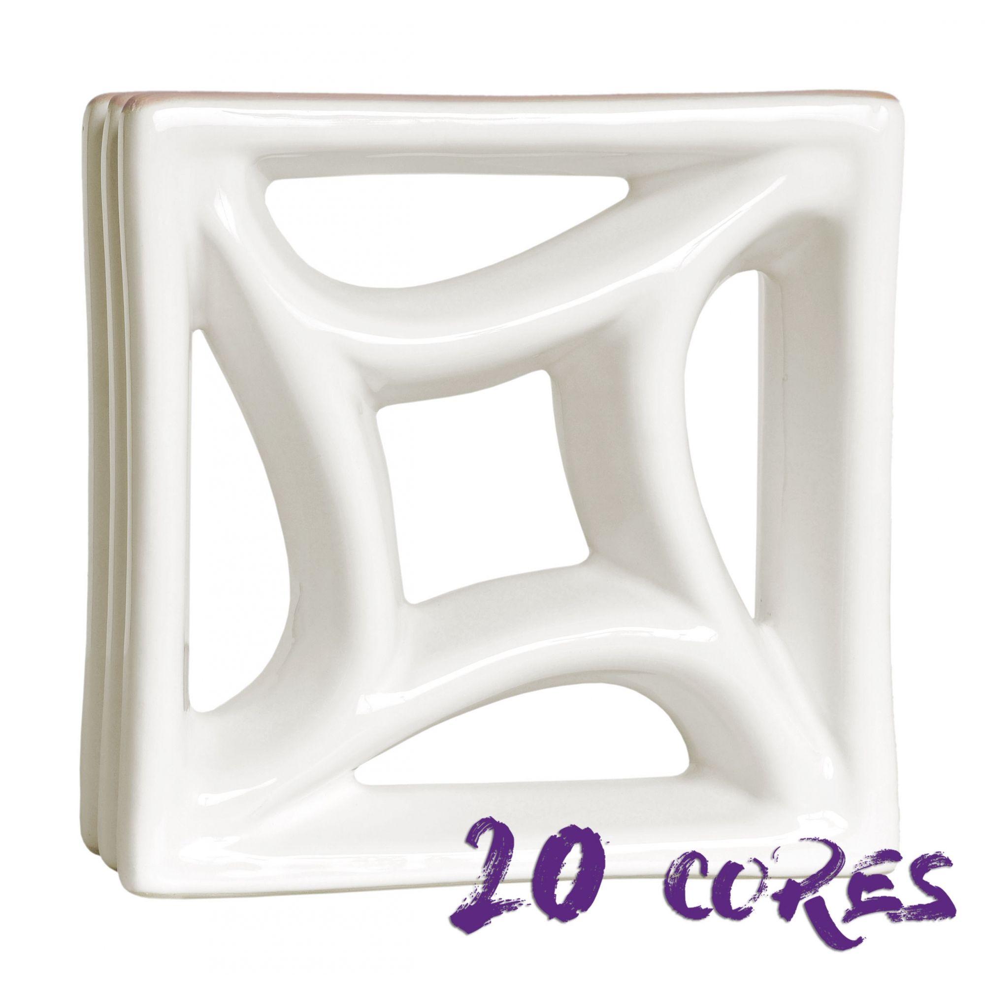 Cobogó Estrela do Mar - 20 cores - 20x20 cm