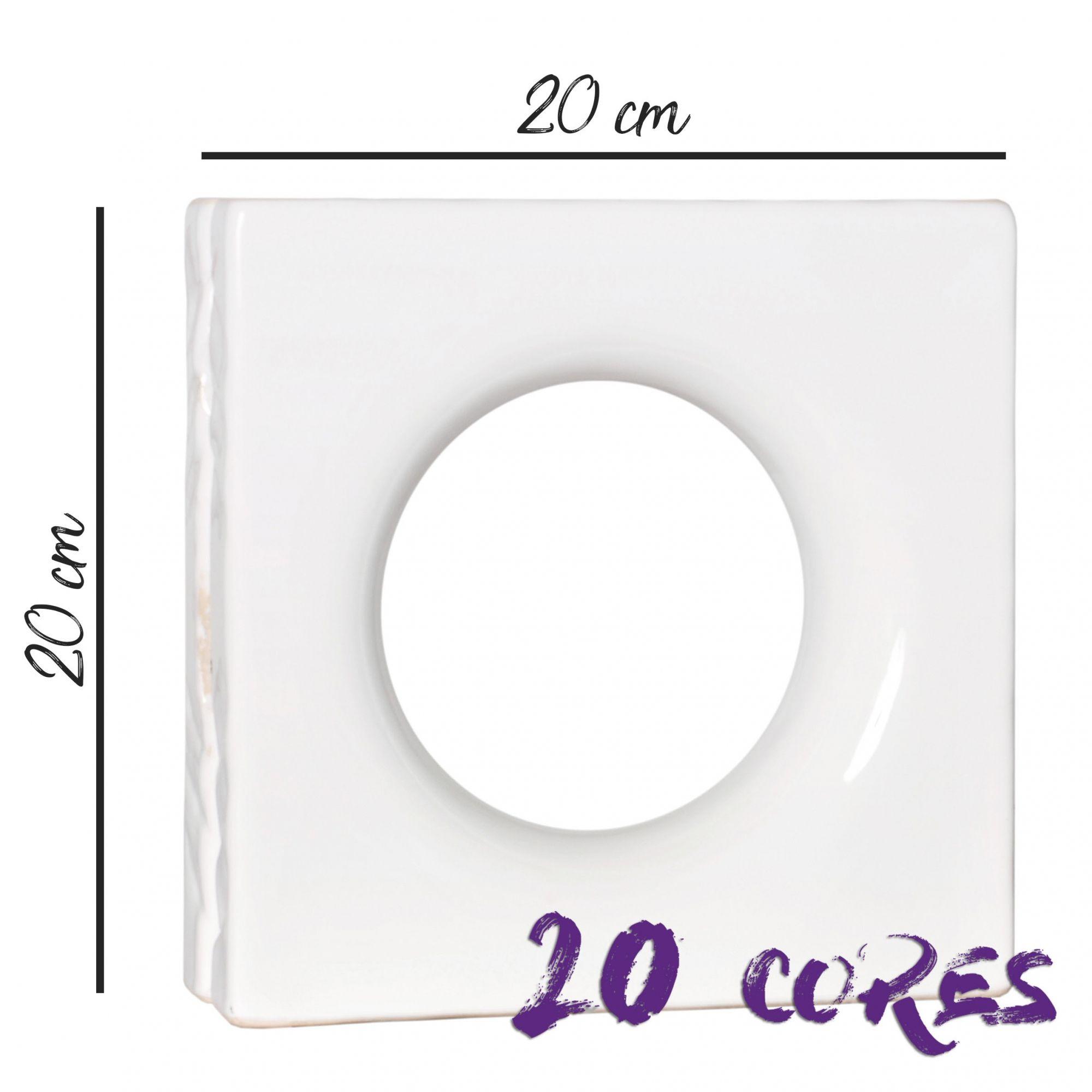 Cobogó Mini Lua - 20 cores - 20x20 cm