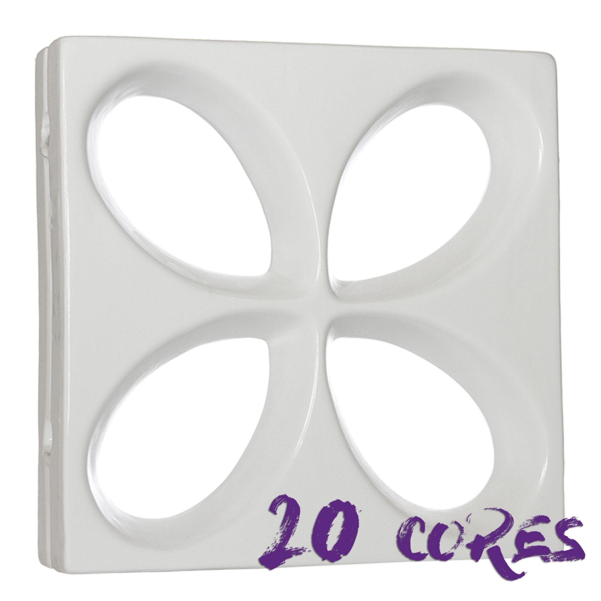 Cobogó Safira - 20 cores - 30x30 cm