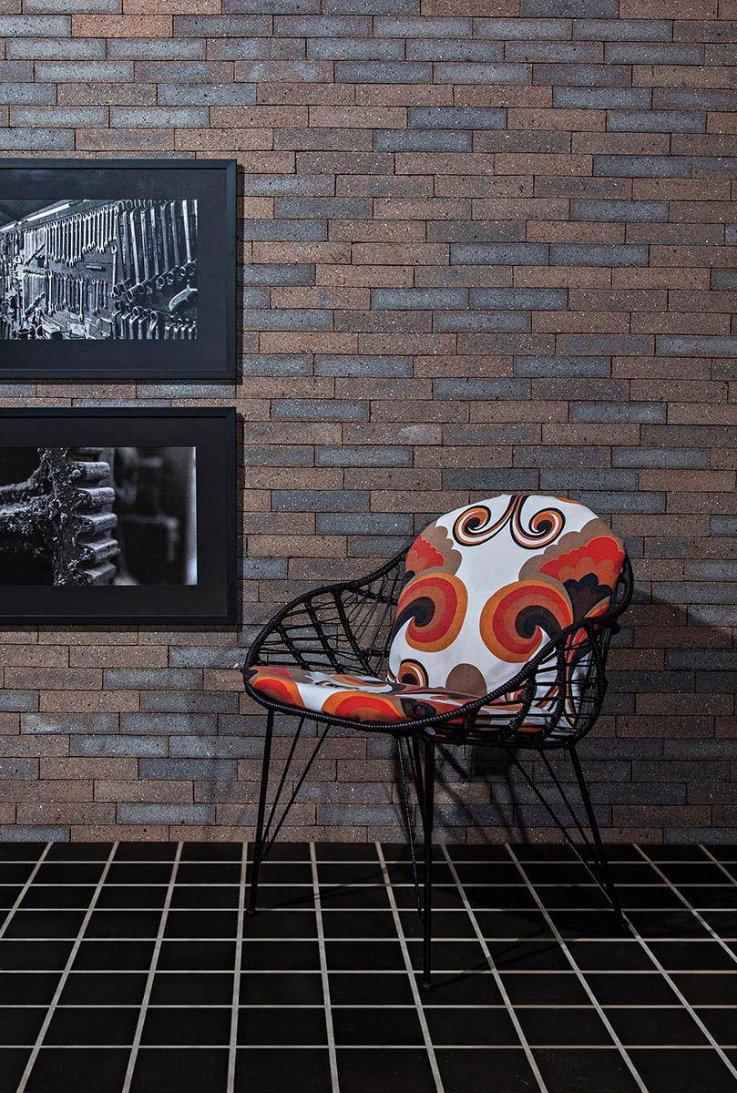 Piso Rústico Negro - 8 tamanhos - Del Favero