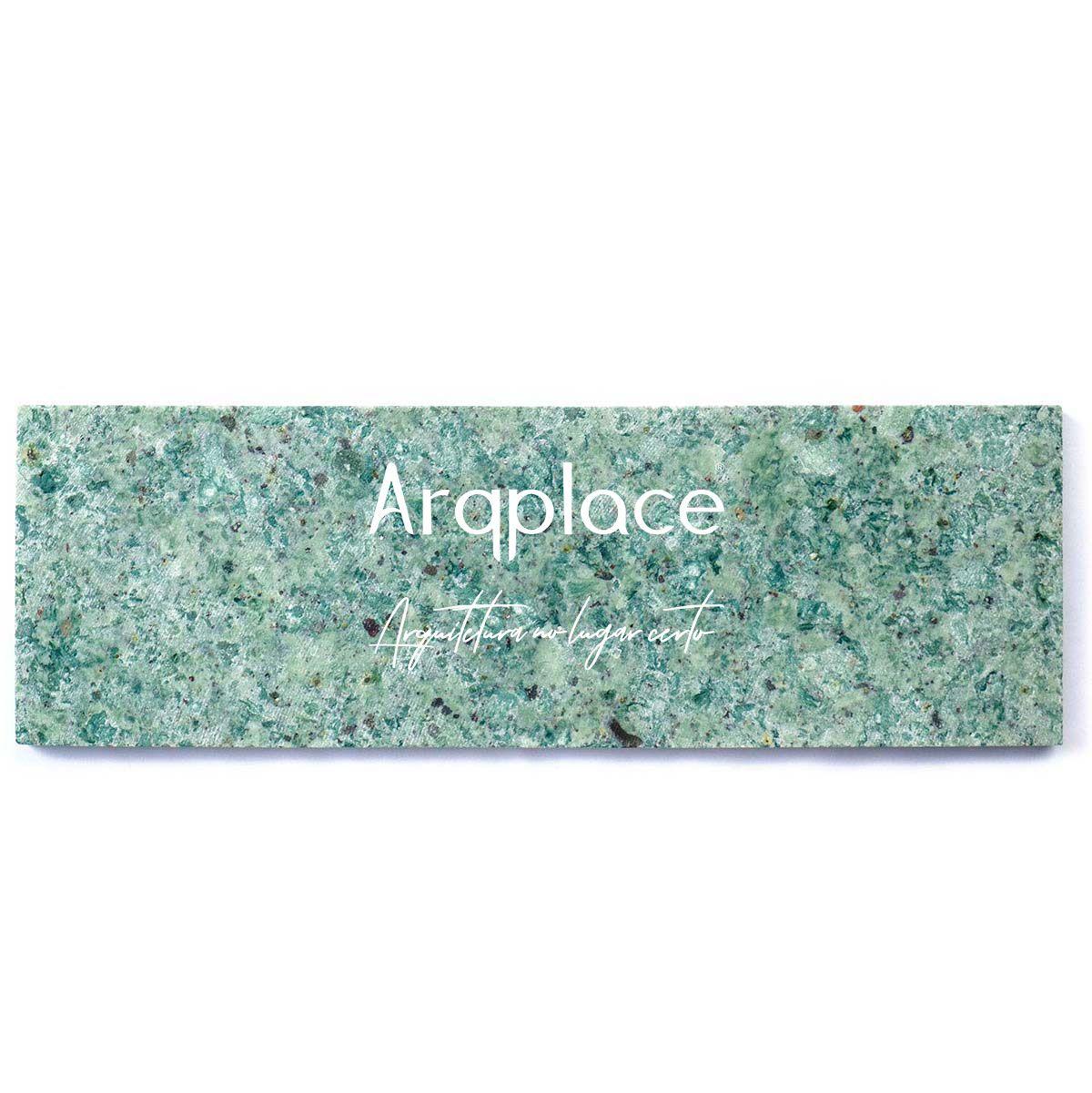 Revestimento Brick Hijau Liso 7,5 x 23 cm