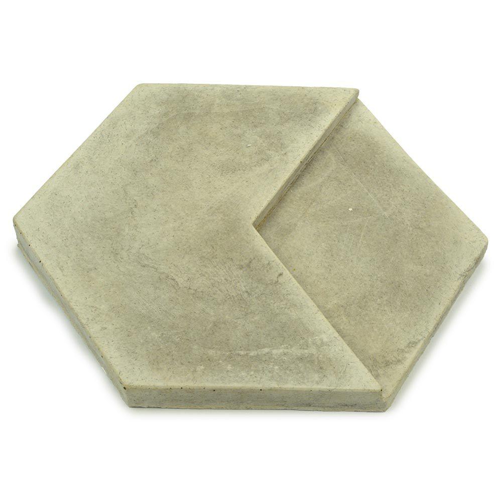 Revestimento Esagonale Concreto - Nina Martinelli