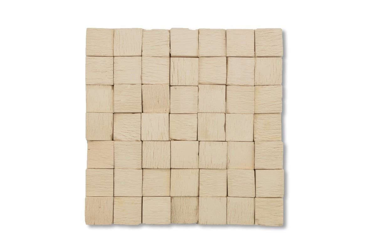 Revestimento Legno Bianco - 21 x 21 - Nina Martinelli