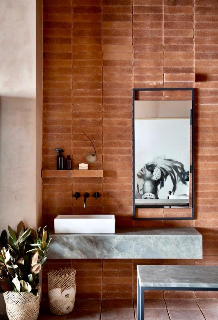 Revestimento Tijolinho Brick - Coleção Loft NY Mesclado 7 x 30cm