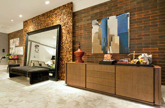 Revestimento Tijolinho Brick - Coleção Loft NY Negro 7 x 30cm