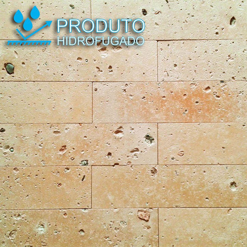 Revestimento Tijolinho Brick - Coleção Toscana Palha Mesclado 7 x 28cm
