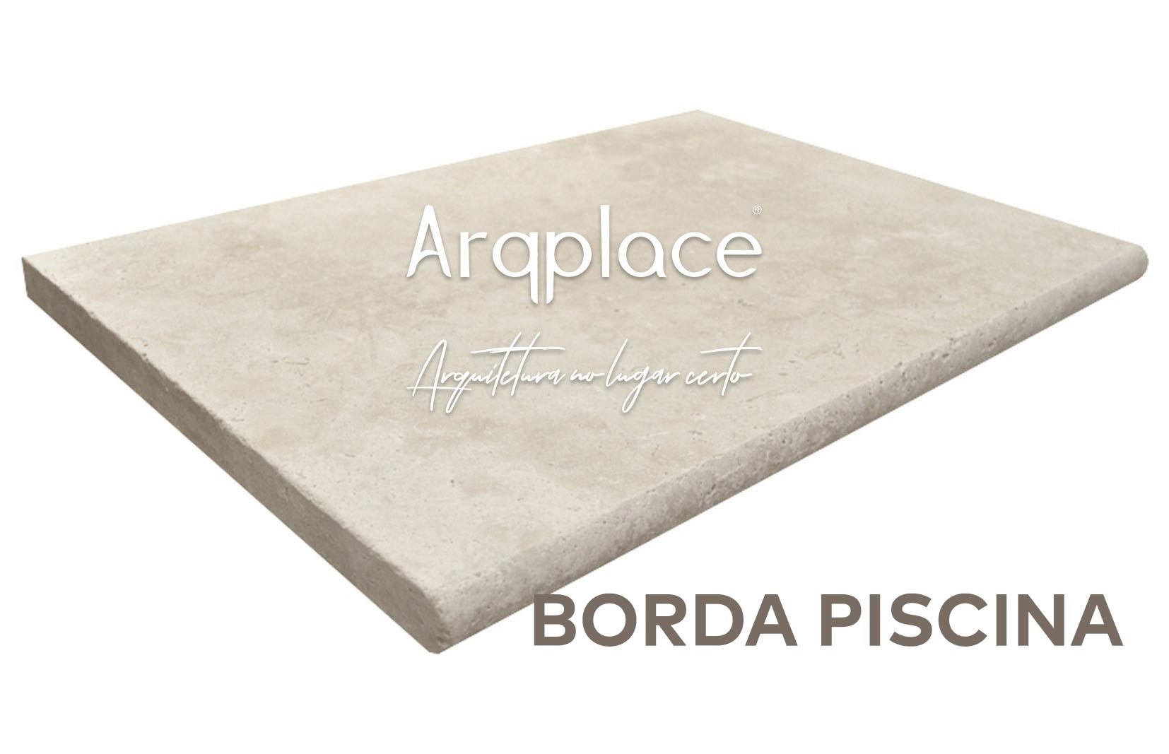 Travertino Borda Boleada - 30 x 60