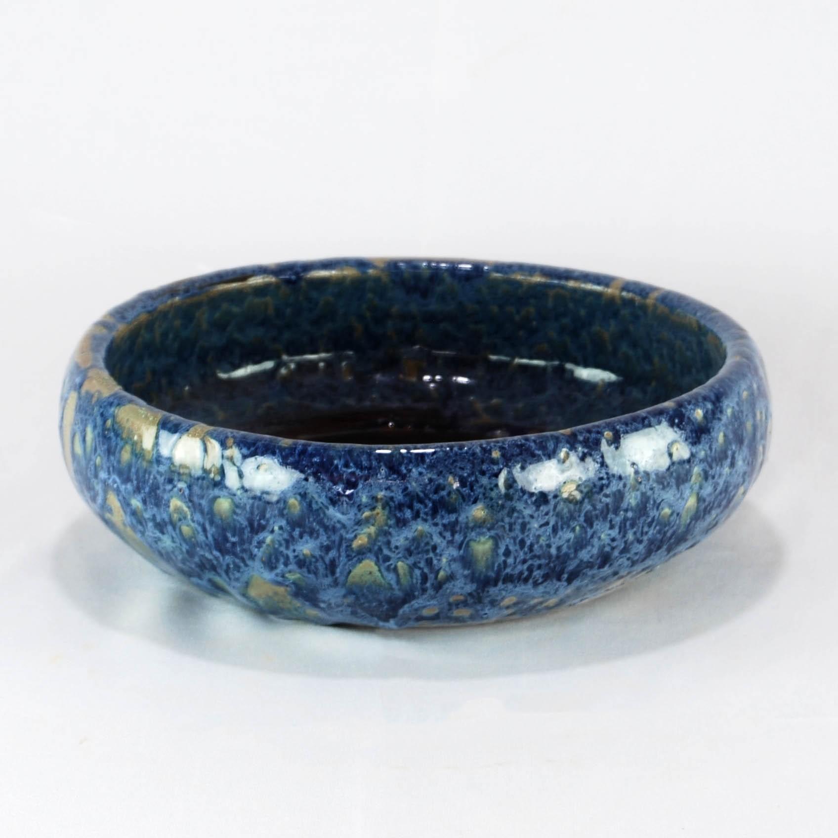 Vaso Esmaltado Bacia Lisa - G - Azul del Mar