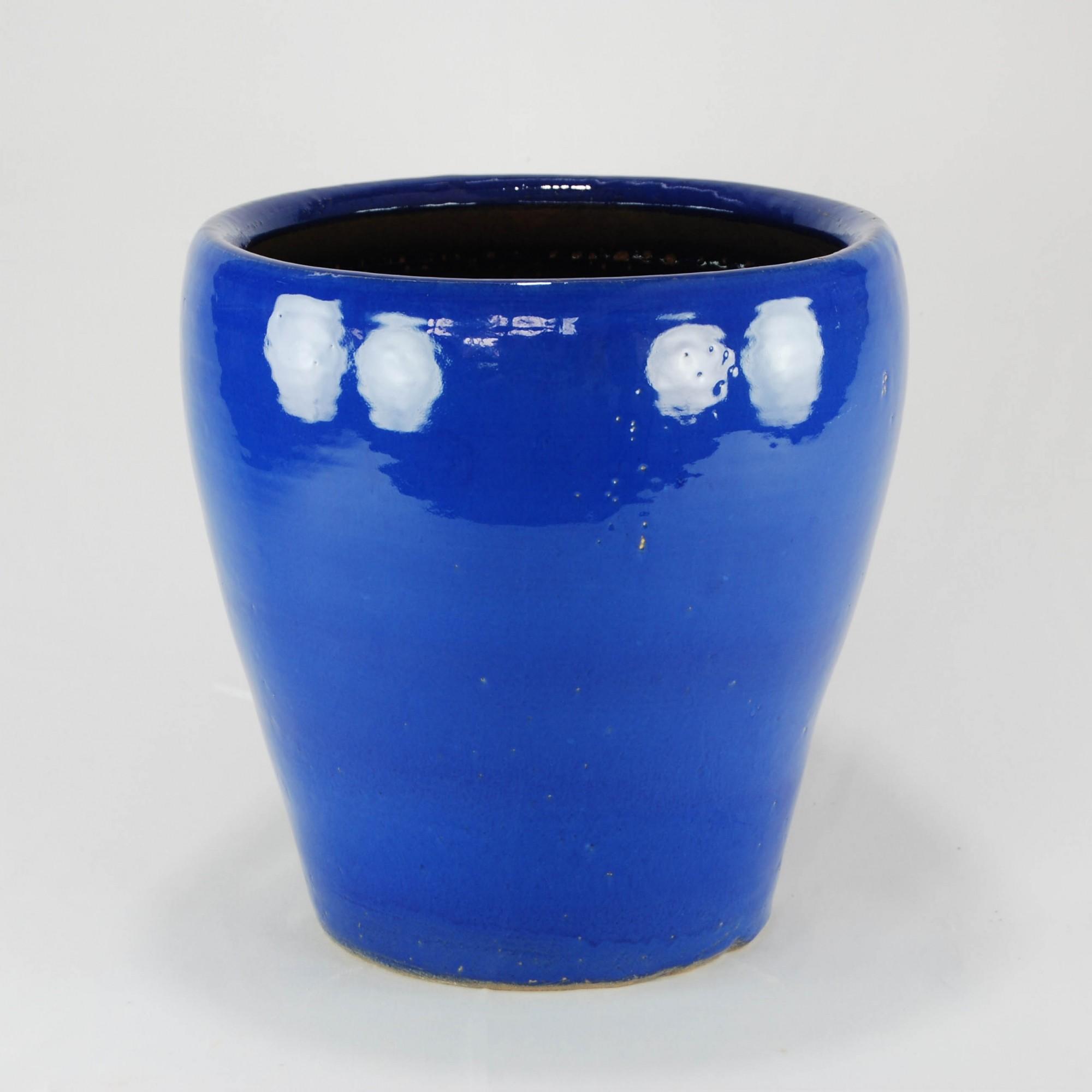 Vaso Esmaltado Egg - P - Azul Real