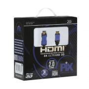 Cabo HDMI 2.0 4K HDR 19 Pinos 20MT PIX