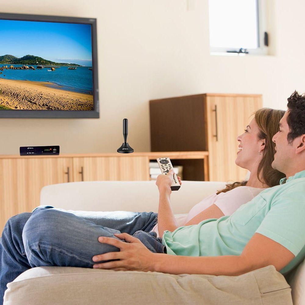 Antena Digital Interna Omnidirecional HDTV - Shd-1000