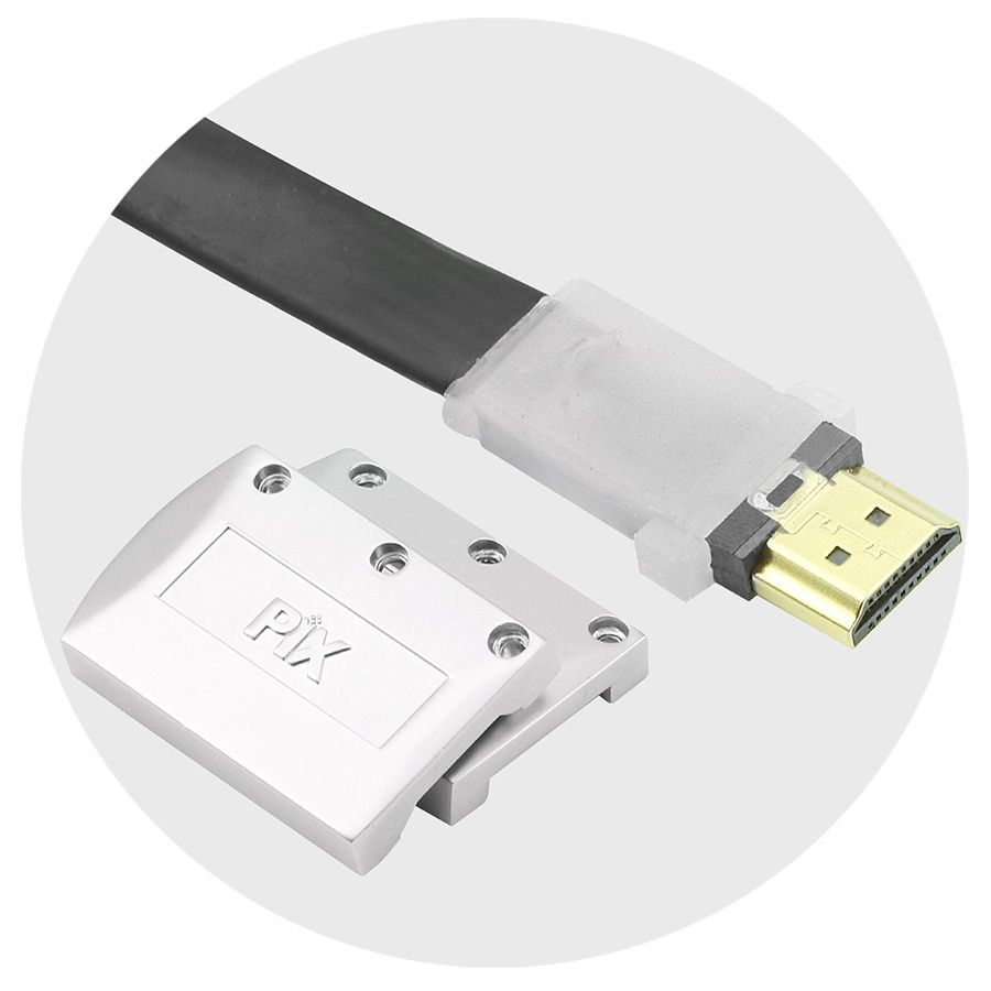 Cabo HDMI 2.0 Flat Desmontável 3 Metros