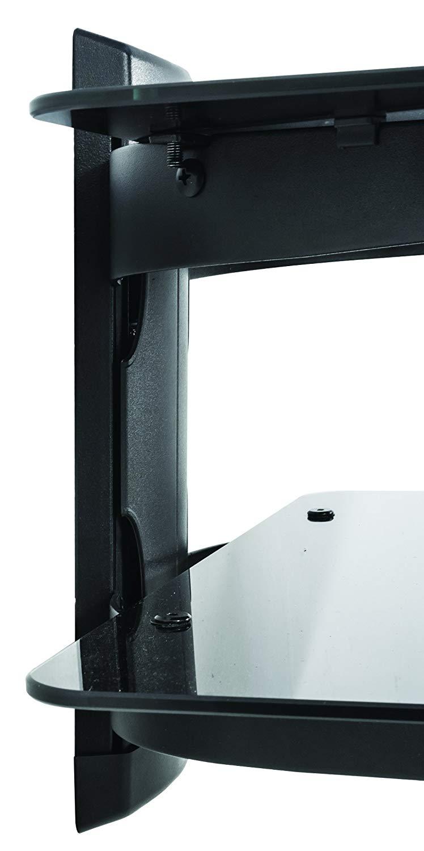 Suporte de parede com vidro duplo temperado Sdvd d2 multivisão