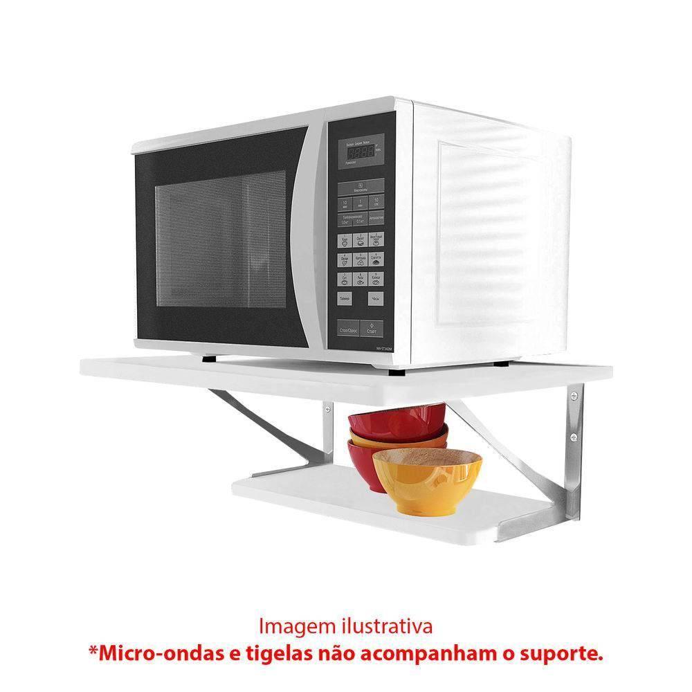 Suporte Para Microondas 2Z-UV-BR Multivisão