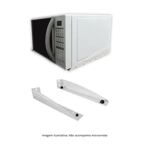 Suporte para Microondas F-decor Prata Multivisão