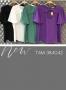 Blusa Decote em V com Laco Aplicado Donna Ritz