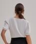 Blusa Decote em V com Renda  Unique Chic