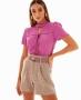 Blusa em Crepe com Detalhe de Amarracao Unique Chic