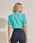 Blusa em Crepe com Gola Alta e Detalhes de Renda Unique Chic
