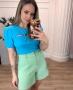 Blusa em Malha Canelada com Recorte Donna Ritz