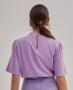 Blusa em Viscose com Detalhe na Gola Unique Chic