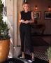 Calca Cenoura em Twill com Elastico Donna Ritz