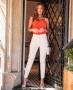 Calca Skinny em Alfaiataria Donna Ritz