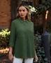 Camisa Alongada em Viscose Donna Ritz