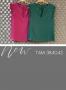 Regata em Crepe com Recorte e Detalhe Franzido Donna Ritz