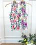 Regata Floral com Gola em Lastex Donna Ritz