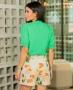 Shorts Alfaiataria com Cinto Kesses