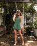 Shorts Saia Soltinho em Crepe Donna Ritz