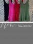 Vestido em Viscose com Decote V e Saia em Camada Dupla Donna Ritz