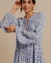 Vestido Estampado em Viscose Creponada Unique Chic